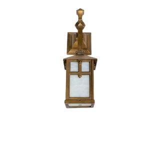 Custom Bronze Exterior Sconce For Sale