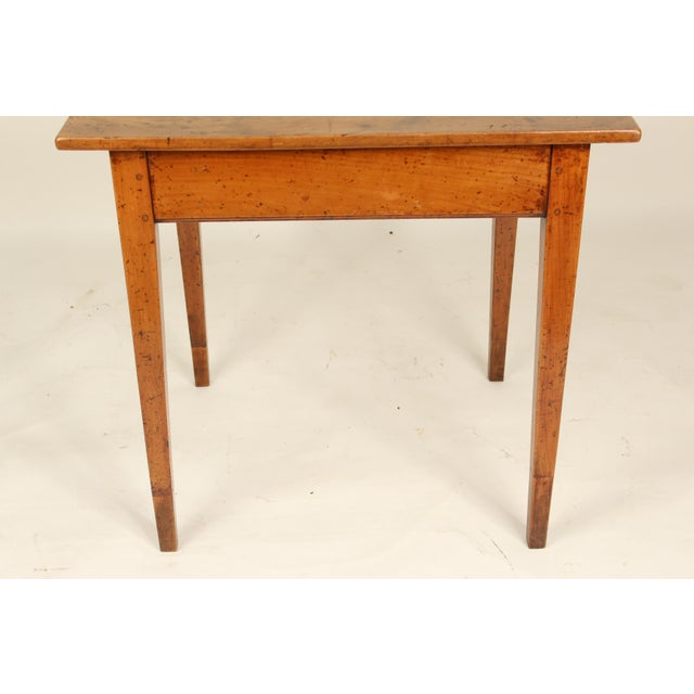 19th Century Neoclassical Fruit Wood Occasional Table For Sale - Image 4 of 12