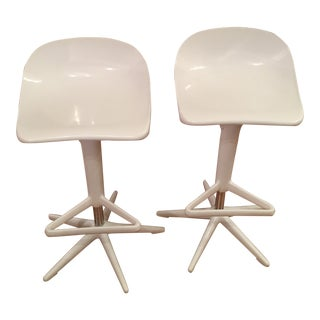 1970s Vintage Italian Kartell Barstools Antonio Citterio With Toan Nguyen- A Pair For Sale