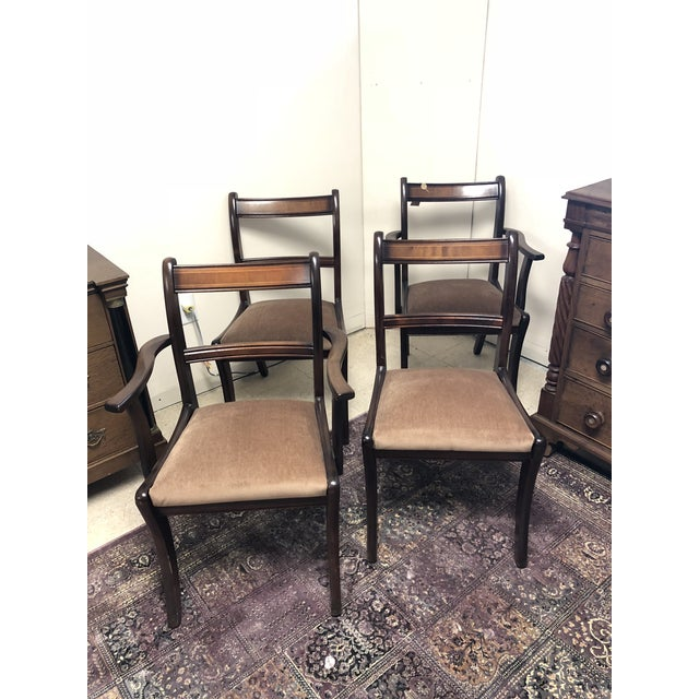Early 20th Century Antique Chairs - Set of 4 For Sale - Image 10 of 10