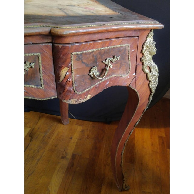 19th Century Louis XV Writing Desk For Sale - Image 9 of 11