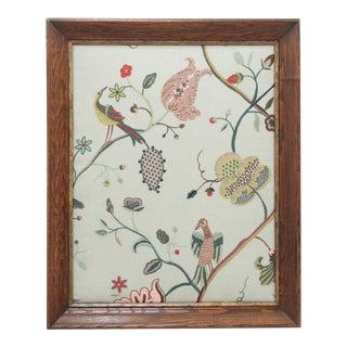 Margo Sky Framed Embroidery For Sale