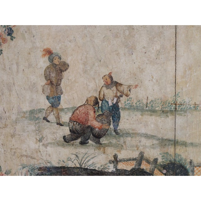 Late 18th Century 18th Century Italian Chinoiserie Architectural Panel For Sale - Image 5 of 8