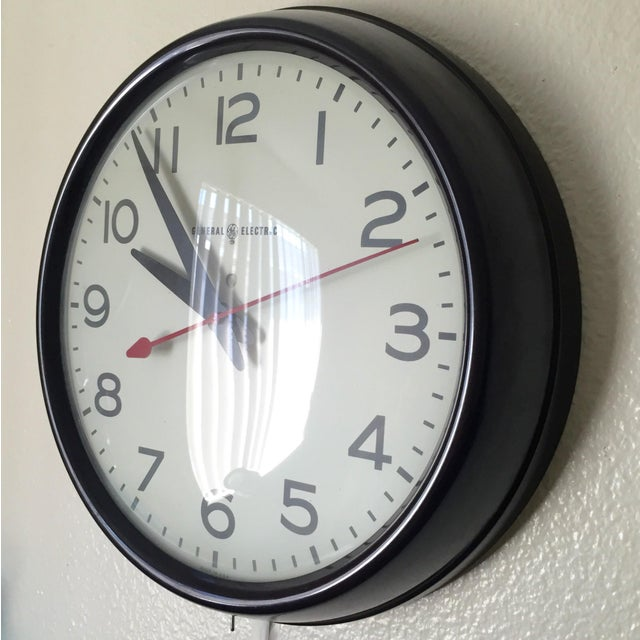 General Electric MCM General Electric Second Hand Wall Clock For Sale - Image 4 of 6