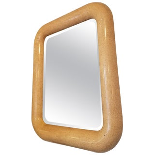 Awesome Karl Springer Style Mirror For Sale