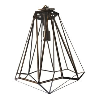 1980s Arteriors Home Ceiling Lamp For Sale