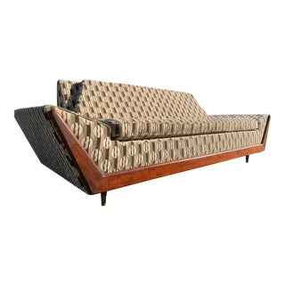 Mid Century Adrian Pearsall Style Gondola Sofa For Sale