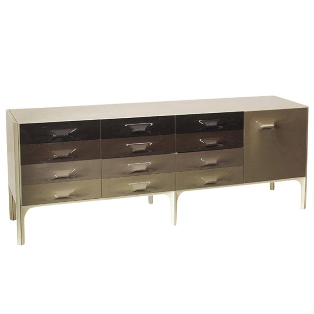 Large Raymond Loewy DF-2000 Credenza or Dresser for Doubinsky Freres For Sale