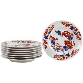 Set of Eight Chamberlain's Worcester Regent Dessert or Salad Plates For Sale