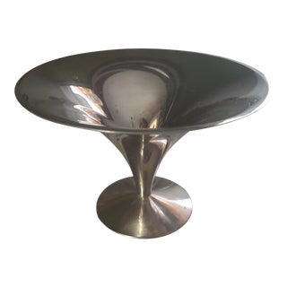 Mid Century Eero Saarinen Style Pedestal Candy Dish For Sale