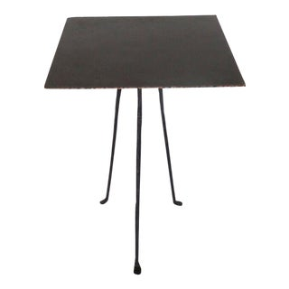 Tripod Side Table For Sale