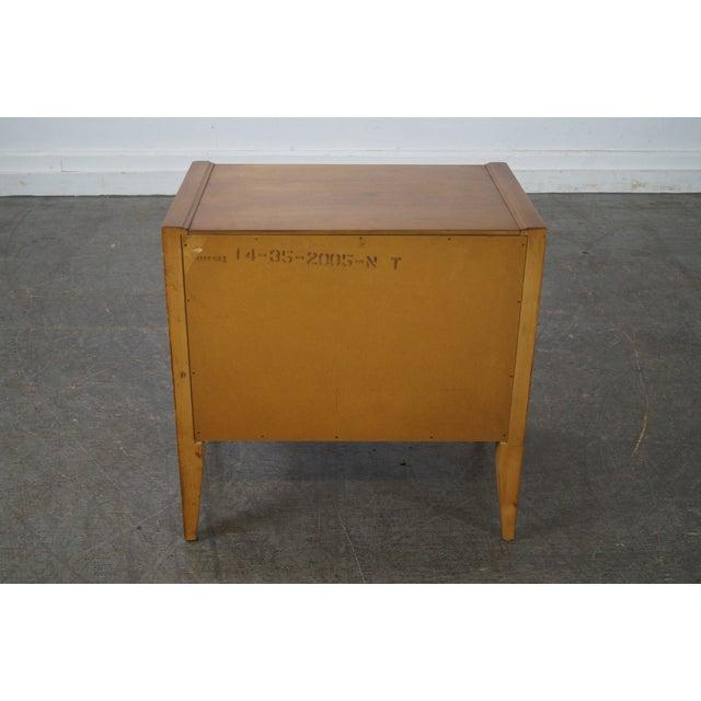 Basic Witz Mid-Century Modern Walnut Nightstand For Sale - Image 4 of 10
