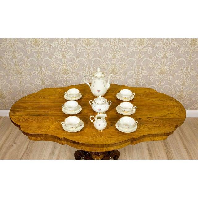 Ceramic 1918-1948 Karlskrona Porcelain Coffee Service for 6 - Set of 15 For Sale - Image 7 of 13