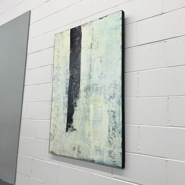"""Abstract Original Oil Painting Titled, """"Winter Prolepsis,"""" by Marceau Verdiere For Sale - Image 3 of 10"""