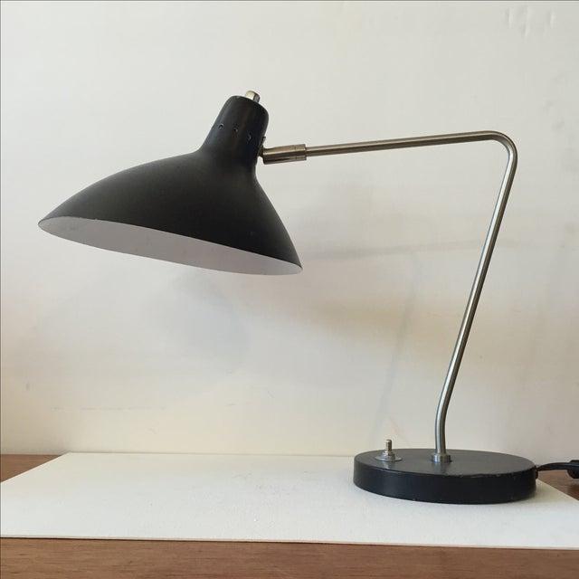 Vintage 1970s Black Desk Lamp - Image 3 of 11