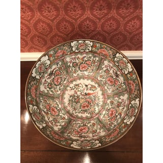 Mid 19th Century Antique Chinese Famile Rose Punch Bowl Preview