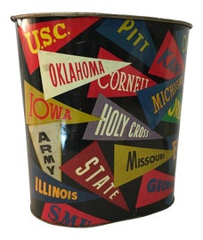 Image of Black Wastebaskets and Trashcans