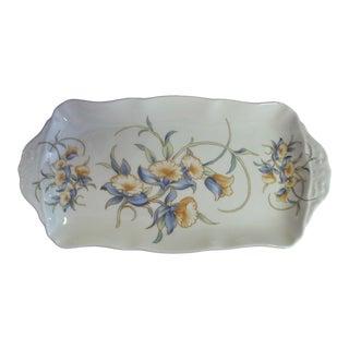 1960s Vintage Aynsley Porcelain Serving Tray For Sale
