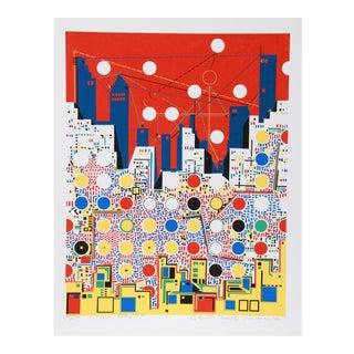 City 369, Serigraph by Kimura