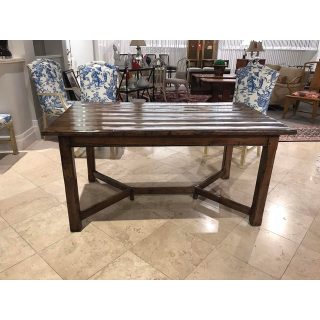 Guy Chaddock Wood Dining Table For Sale In Detroit - Image 6 of 12