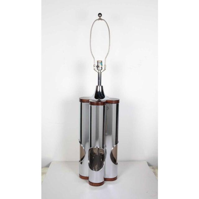 Hollywood Regency Pair of Sculptural Hollywood Regency Lamps by Laurel For Sale - Image 3 of 11
