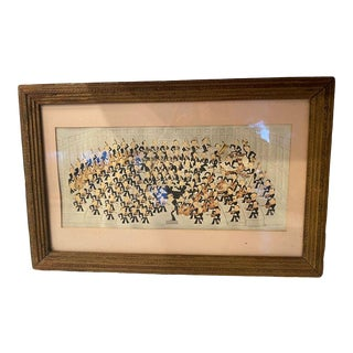 """1936 """"Boston Symphony Orchestra"""" Framed Print by Martha Powell Satchell Signed For Sale"""