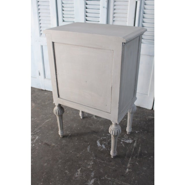 20th Century Swedish Gustavian Style Nightstands - A Pair For Sale - Image 12 of 13