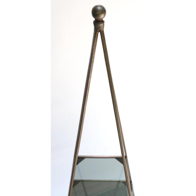 1960s Pyramid Étagères-A Pair For Sale In Los Angeles - Image 6 of 7