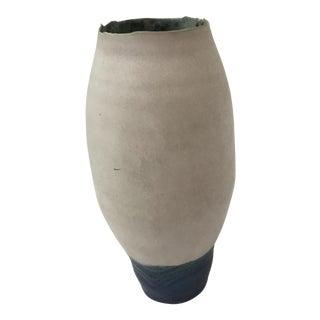 Porcelain Studio Ceramics Ikebana Vase For Sale