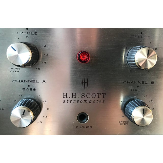 1960's Vintage MCM Hh Scott Integrated Tube Amplifier 222c For Sale In New York - Image 6 of 12