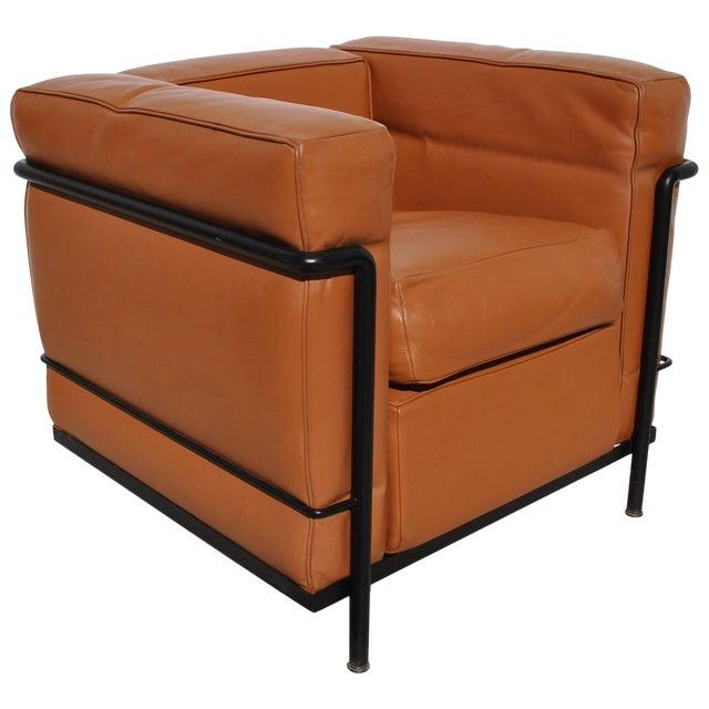 Peachy One Vintage Le Corbusier Cassina Lc2 Lounge Chair Inzonedesignstudio Interior Chair Design Inzonedesignstudiocom