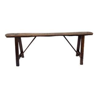 Antique Primitive Bench For Sale