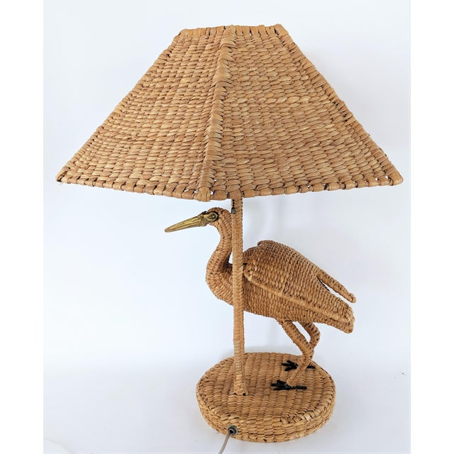1970s 1970s Mario Lopez Torres Crane Table Lamp For Sale - Image 5 of 12