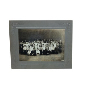 "Vintage ""Fort Pitt Grade School"" Mounted Black & White Photograph For Sale"
