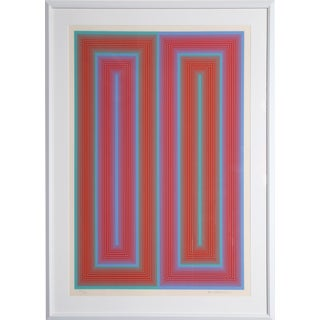 'Untitled From the Peace Portfolio' Serigraph