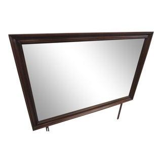 Henkel-Harris Traditional Wood Dresser Mirror For Sale