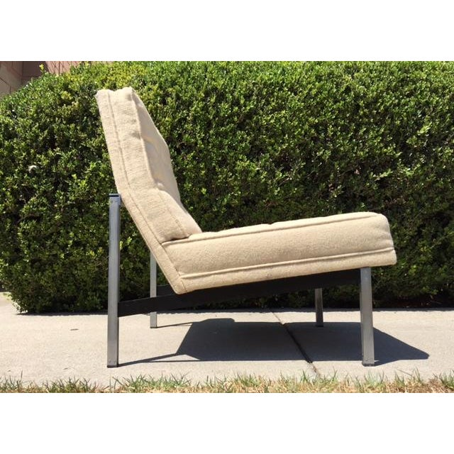 Florence Knoll Parallel Bar Lounge Chair - Image 4 of 6