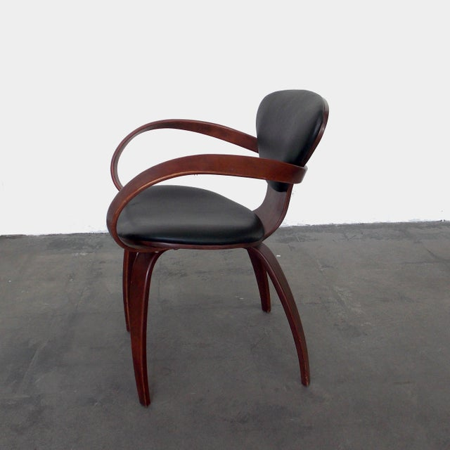 Norman Cherner Bentwood Pretzel Arm Chairs - A Pair For Sale - Image 4 of 10
