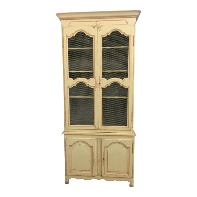 Lillian August Antiquaire Asta Hutch For Sale