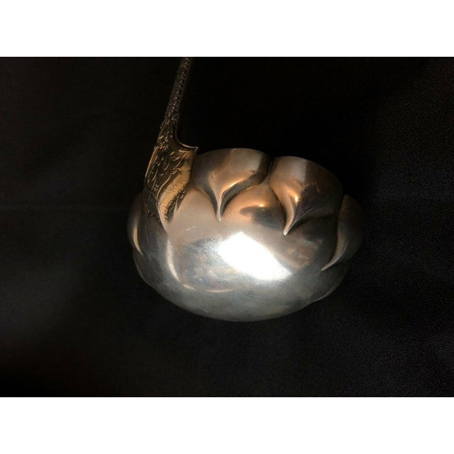 1880s Tiffany & Co. Sterling Silver Persian Pattern Ladle For Sale In Seattle - Image 6 of 9