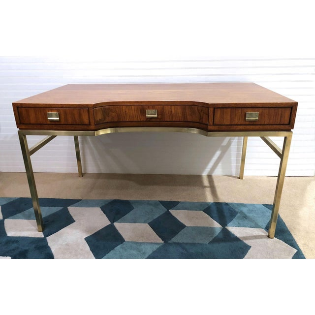 Drexel Consensus Campaign Writing Desk For Sale - Image 11 of 11