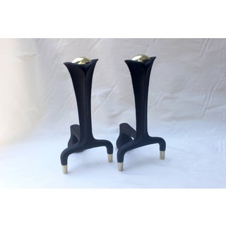 Pair of Donald Deskey Andirons Preview