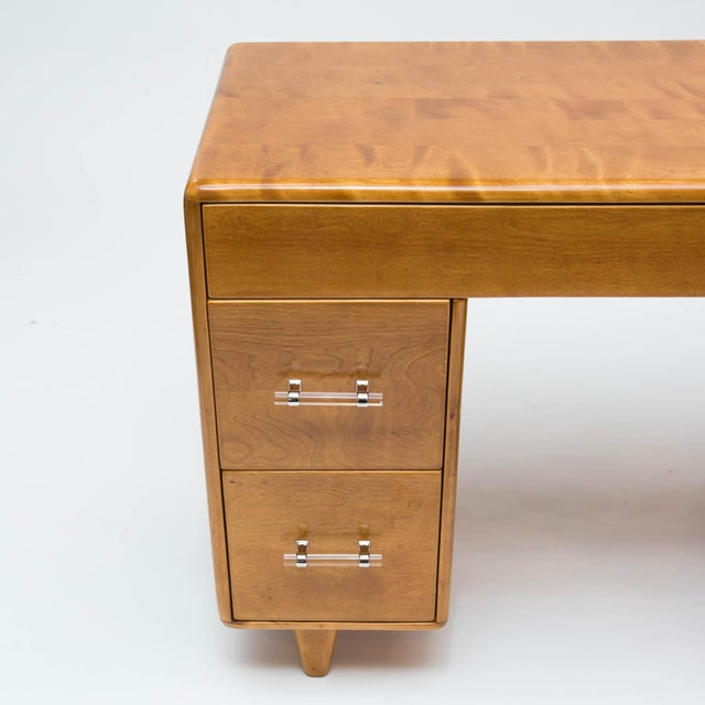 Heywood Wakefield Student Desk With Lucite Handles Image 10 Of 11