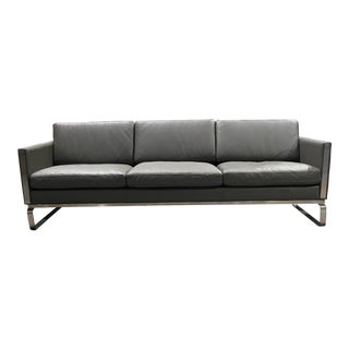 Kardiel Leather Modern Sofa
