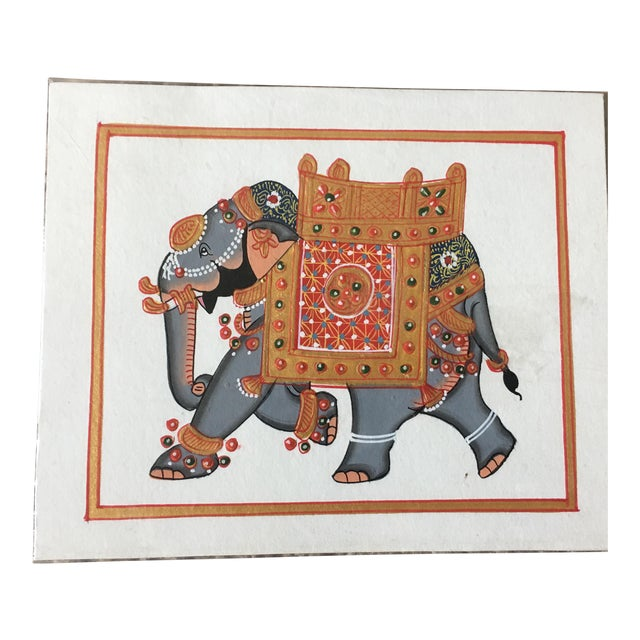 Hand Painted Elephant From Jaipur - Image 6 of 6