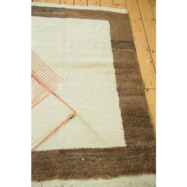 "Islamic Vintage Tulu Rug - 4'2"" X 5'5"" For Sale - Image 3 of 4"