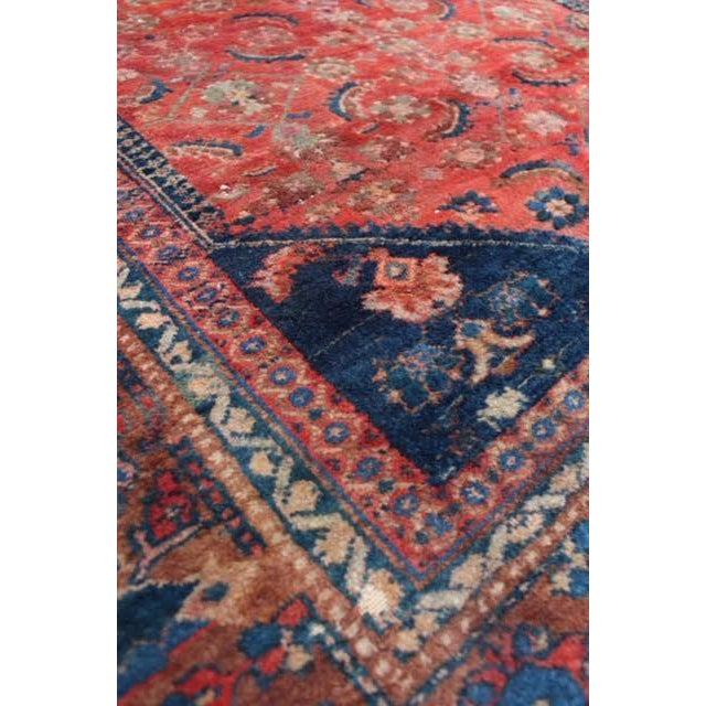 "Vintage Persian Rug - 4'11"" x 6'4"" - Image 4 of 10"
