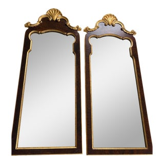 Italian LaBarge Wall Mirrors - a Pair For Sale