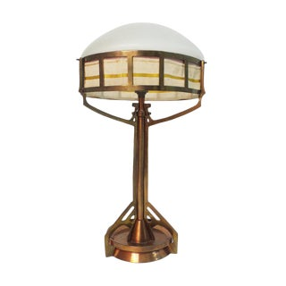 Jugendstil Period Table Lamp For Sale