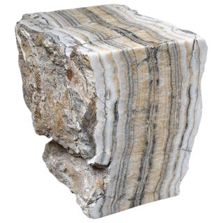 Granite Stone Occasional Table For Sale